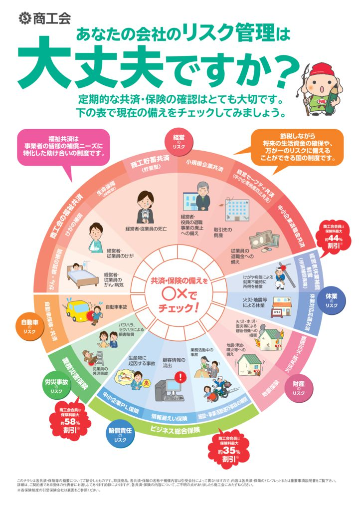 新保険チェック円グラフのサムネイル